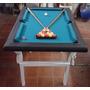 Tejo + Pool Combo Con Patas Plegables