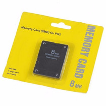 Memory Card 8mb Playstation 2 Ps2 Cartão Memoria Lacrado