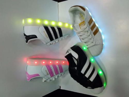 Para Luces Con Adidas 0qvypw Ninos Zapatillas qAwtZ