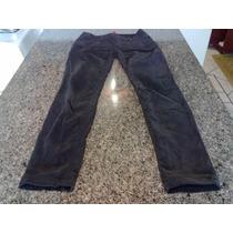 Calça Tipo Jeans Em Veludo Importada Da E-spirit Número 38