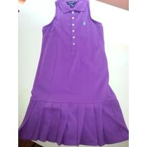 Vestido Polo Ralph Lauren Para Niña Talla 8-10 Años Original