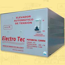 Elevador Automático De Tensión 12 Kva (r 160v) Estabilizador
