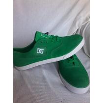 Zapatillas Originales Cuero Verde Nuevas T 44