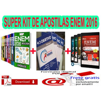 Super Kit De Apostilas Enem 2016 Digital ( 3 Kits )