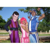 Venta Disfraz Lacy Town 3 Personajes Conjunto