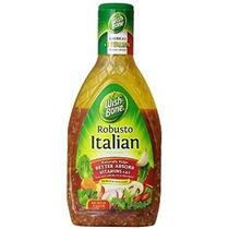 Wish-bone Salad Dressing Robusto Italianos 16 Botellas Onzas