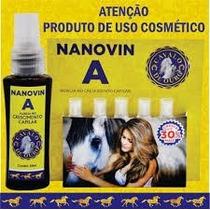 Nanovin A Cavalo De Ouro Para Shampoo Bomba 30ml Fretegrátis
