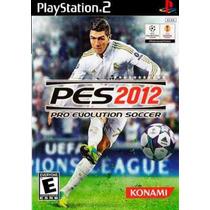 Patch Pes 2012 Pro Evolution Soccer 2012 Ps2 Frete Gratis