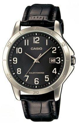 efdaecb3cfe4 Reloj Casio Para Hombre Mtp-vs02l-1b Fecha Tablero Negro Y -   2