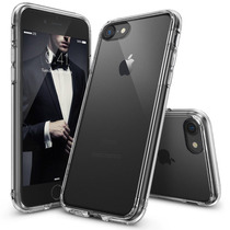 Funda Case Ringke Fusion Para Iphone 7 Bumper Transparente