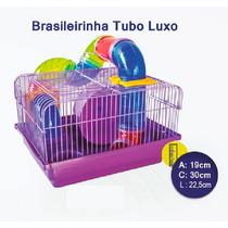 Casa Gaiola Hamster Tubo Luxo 12x Sem Juros