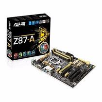 Placa Mãe Asus Z87 - A C/ Sli/crossfirex P/ Intel Lga 1150