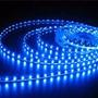 Fita De Led 5050 24v Impermeavel P/caminhao E Onibus Azul