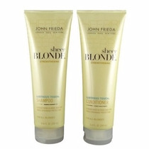 Kit John Frieda Sheer Blonde Strengthening,(2produtos)
