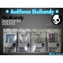 Audifonos Tipo Skullcandy Supreme Sound Ink D-2 Excelentes