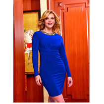 Vestido Cklass Azul Rey Otoño Invierno 2015 Nuevo Oferta
