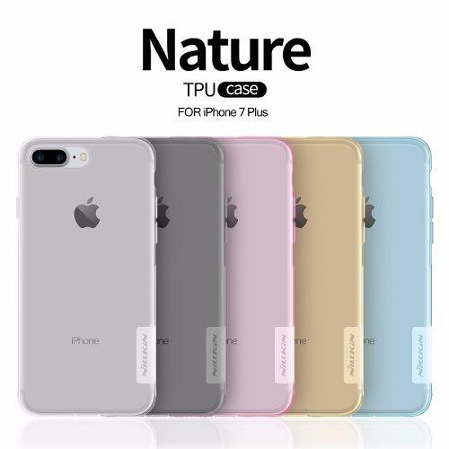 5a5ffd1955c Capa Nillkin Nature Tpu 0.6mm Case iPhone 7 Plus 5.5 Cores - R$ 59,99 em  Mercado Livre