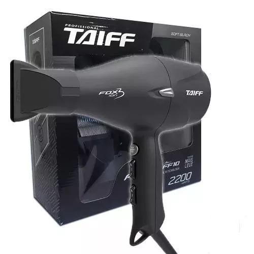 8edd5c234 Secador Profissional Taiff Fox Íon 3 Black 2200w - R$ 492,99 em Mercado  Livre