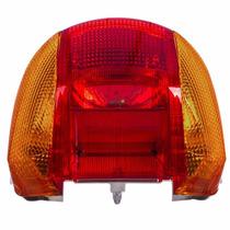 Lanterna Traseira Biz 100 Pop 100 + Lampada Cod 02204