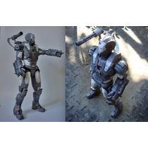 Ironman War Machine Detallado (para Armar En Papel)