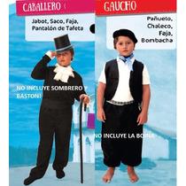 Disfras De Caballero ,gaucho ,dama Antigua,paisana,negrita