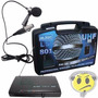 Microfone Lapela Sem Fio Leson Ls 801 Pro - Loja Kadu Som