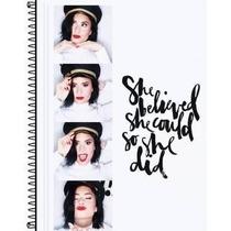 Caderno Personalizado Demi Lovato 1materia
