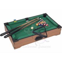 Pool Mini Tabletop Fabricado En Madera - Calidad Premium