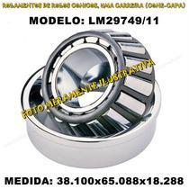 Rolamento Automotivo Lm29749/11 Med: 38.100x65.088x18.288