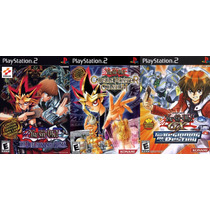 Yu-gi-oh! The Duelists Of The Roses Play 2 (3 Jogos Ps2 Rpg