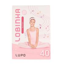 Meia-calça Lupo 2520-01 Lobinha Ballet Fio 40 - Rosa G