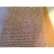 Manta De Strass Cristal Silicone Tamanho 10cmx45cm