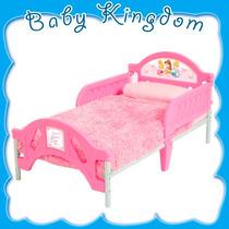Cama Infantil Para Nena Niñas Disney Princesas Rosa Nueva