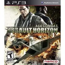 Ace Combat Assalt Horizon Psn Ps3 Envio Ja Aventura Ação