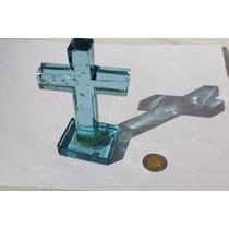 Cruz Cristal Azul 1333