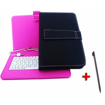 Capa Case Com Teclado Usb Para Tablet 9 Polegada Cce Aoc Dl