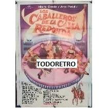 Afiche Los Caballeros De La Cama Redonda Olmedo Porcel 1973