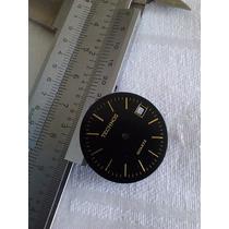 Mostrador Relógio Technos Quartz Preto 26mm