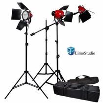 Equipo Kit De Iluminacion 2400 Watts Luz Continua Foto Video