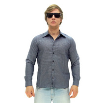 Camisa Manga Longa Maresia Simple Blue