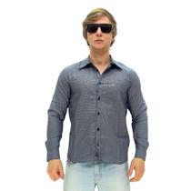 Camisa Manga Longa Maresia Simple Blue