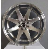 Jogo De Roda Esportiva K59 Aro15 Peugeot Vw Chevrolet Gm