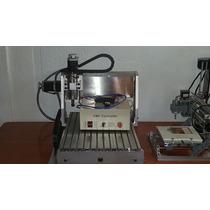 Mini Router Cnc Usb Fresadora 30x20 Pcb Nema Mach3 Aluminio