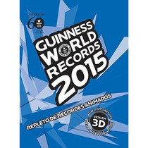 Livro Guinnes World Records 2015 Original Novo Lacrado