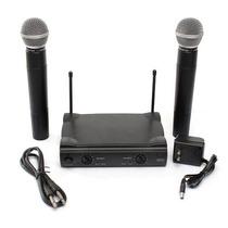 Kit Com 2 Microfones Sem Fio