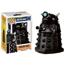 Funko Pop Dalek Sec Doctor Who Negro Vinyl De Serie Tv Bbc