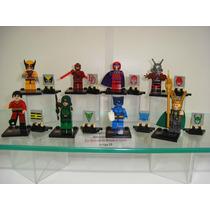 Ant-man Green Arrow Wolverine Magneto Fera Loki =lego Figura