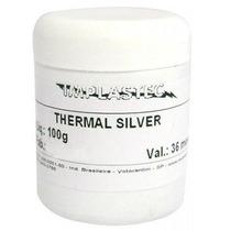 Pasta Térmica Prata, Pc Processador Placas Cooler Pote