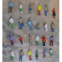 50 Miniaturas Figuras Bonecos Pessoas Maquetes Escala 1:150