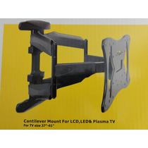 Base Movil Articulada Tv Plasma Led 37 - 61 Pickens (757-ls)